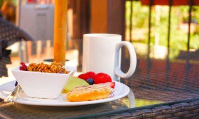 smaczny zestaw śniadaniowy
