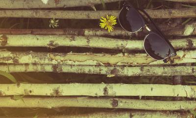 okulary na patykach