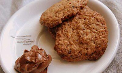 ciasteczka owsiane z czekoladą