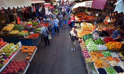 Rynek Carmel w Tel Awiwie - Izrael