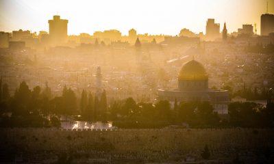 Zachód słońca w Jerozolimie