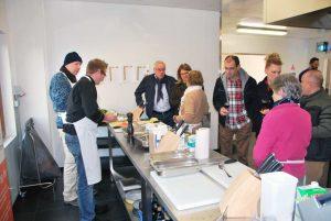 Kuchenny coworking w Brukseli