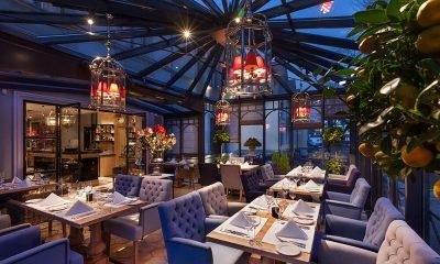 Entrevilles wnętrze restauracji