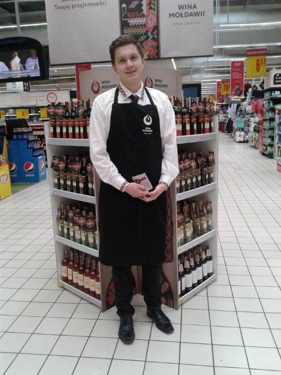 Wina z Mołdawii Carrefour