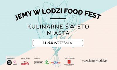 Jemy w Łodzi plakat wrzesień 2017