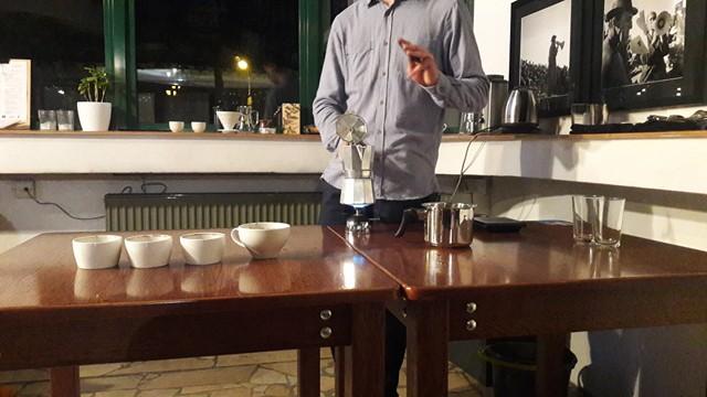 Warsztaty z parzenia kawy Bielsko Biała