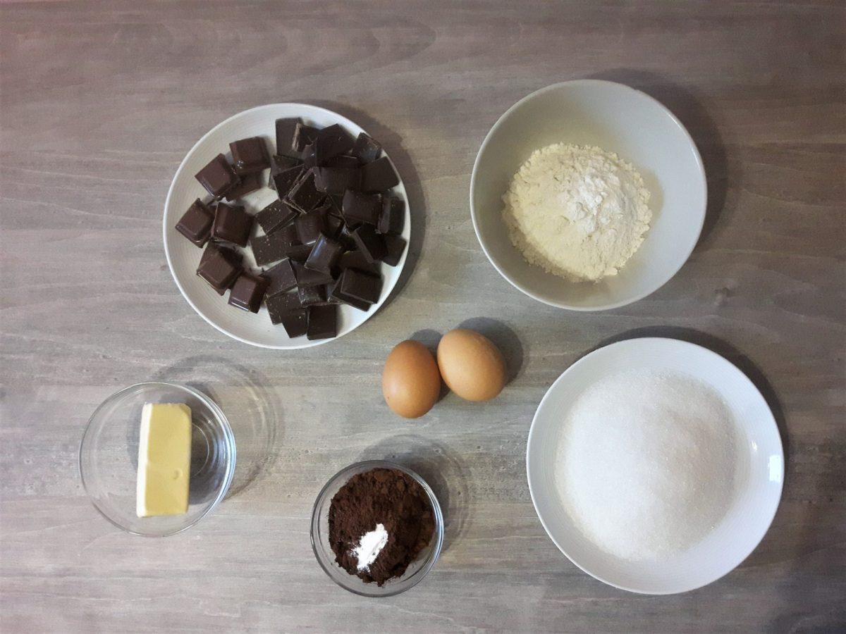 ciastka z czekolady