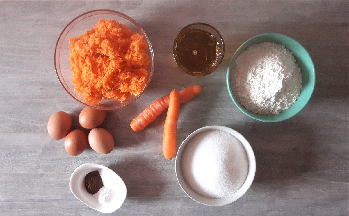ciasto z marchewek