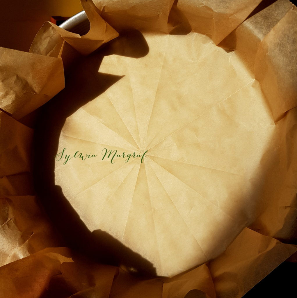 Ciasto zcukinii, forma