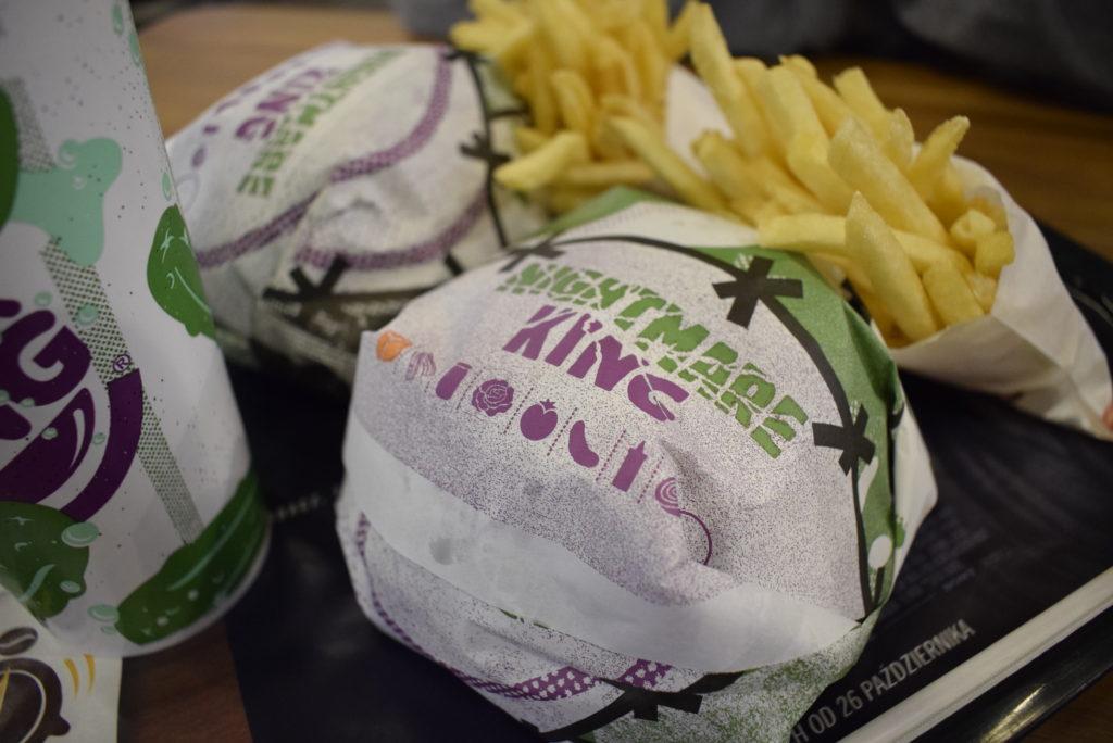 Burgery Nightmare King z Burger Kinga