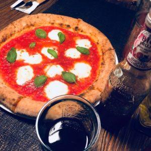 pizza z piciem