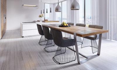 jadalnia ze stolem i krzeslami
