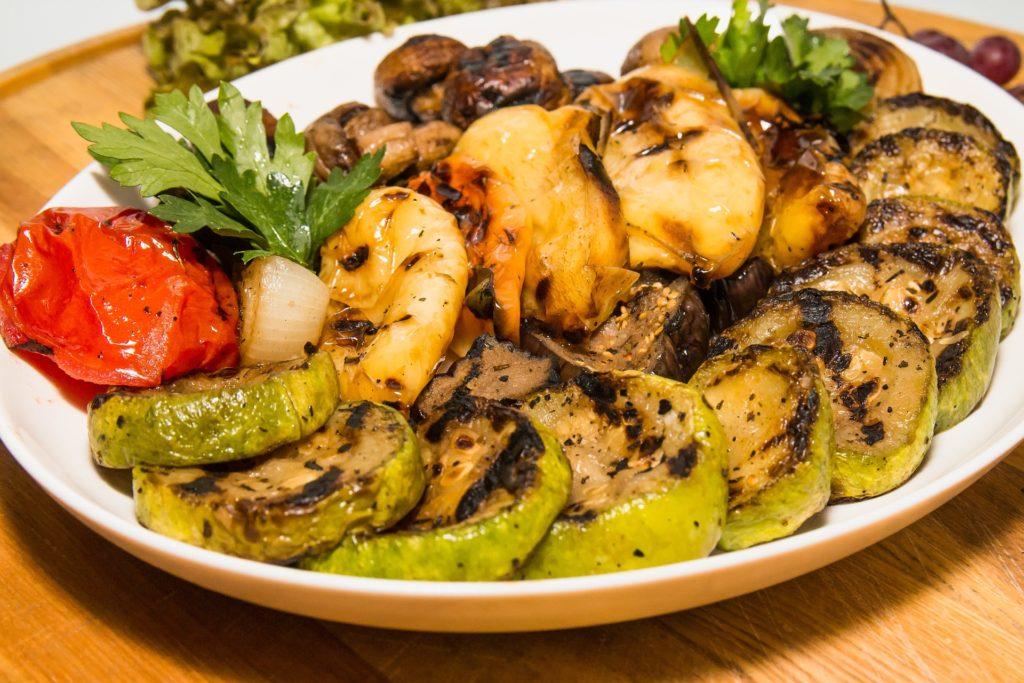 grollowane warzywa natalerzu