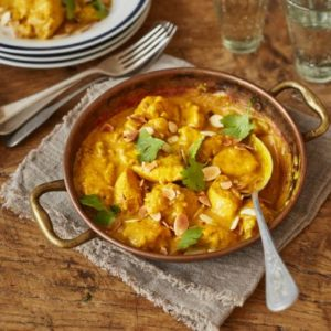 indyjskie danie z kurczaka