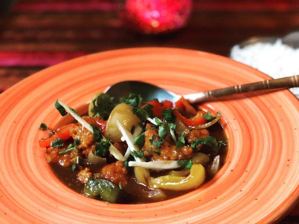 obiad indyjska kuchnia