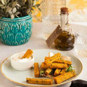 jedzenie frytki bataty przekąski